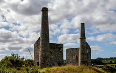 Engine houses, Wheal Unity Wood (Rogpow) Tags: cornwall mine stday whealunitywood cornishmining cornishmines cornishminingworldheritagesite copper coppermine tin tinmine metalmine metalmining abandoned derelict decay disused dilapidated building enginehouse pumpingenginehouse whimenginehouse windingenginehouse stampsenginehouse fujifilm fuji fujixt1