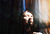 catching light (Lena Kanshyna) Tags: girl portrait beautiful beautifulgirls film filmphoto sunny light love warm kanshyna kyiv kodakgold kiev 35mm 35mmphotography zenite zenitphoto zenit face chasinglight indoor inner grain vintage goldenhour