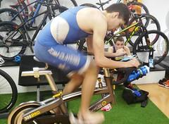 Richi Clavería triatlón Indoor team clavería triatlón World