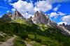Cime di Maraia (Giampaolo Mastropasqua) Tags: montagna rocce verde prati relax passeggiate sentieri cielo nuvole