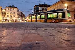 Milano (Alax66) Tags: milano metropoli metropolis city città urban underground sirietto piazza sera luce strada