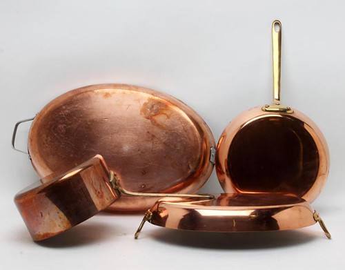 Copper Pots and Pans (Grand Total $806.40)