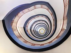 another spiral (ingrid.lowis) Tags: hamburg kontorhäuser treppenhäuser sprinkenhof officebuilding stairwell stairs architecture