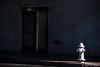 From Out Of The Shadows (www.karltonhuberphotography.com) Tags: 2018 citystreets door downtown entrance firehydrant karltonhuber light morninglight mystery santaana shaadows sidelight sidewalk southerncalifornia splashoflight streetphotography urban