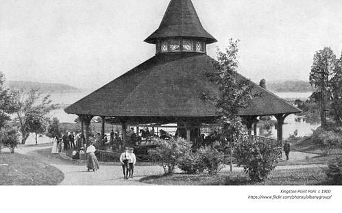 Kingston Point Park circa 1900
