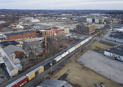 Mansfield Ohio (player_pleasure) Tags: train tracks industry ohiofoothills mansfield drone mavicpro ariel