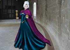 Mila Blauvelt (Mila Blauvelt) Tags: milablauvelt model avatar virtual secondlife lamufashion inspired elsa queen movie shopping style appliers fashion fashionindustry female fashionstyle fitmesh mesh meshavatar maitreya modeling designers dress dressfashion dressmesh virtualfashion woman womanfashion w
