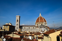 When you rent a place with just the right view... (laurenspies) Tags: florence firenze tuscany toscana italy italia europe it duomo santamariadelfiore church brunelleschi rooftops