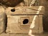 Sarcophagus in Olympos (VillaRhapsody) Tags: site museum olympos cirali lycean roman forest nature city ancient old river creek grave tomb sarcophagus