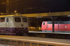 Euro Express 110 169 + DB 181 213 (daveymills31294) Tags: euro express 110 169 db 181 213 baureihe e10 einheitslok basel bad