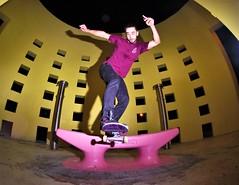 Fritz-bs tail (fabiansuarez3) Tags: skate skateboarding nighttime ledge strobelight