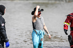20180303-Plunge-Cowboy-JDS_2168 (Special Olympics Southern California) Tags: 36degrees bigbear bigbearlake bigbearpolarplunge letr polarplunge sosc specialolympics specialolympicssoutherncaliforniainlandempire veteranspark winterstorm fundraiser