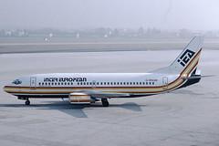 Inter European Airways Boeing 737-3Y0 G-BNGM (c/n 23925) (Manfred Saitz) Tags: salzburg airport szg lows inter european airways boeing 737300 733 b733 gbngm greg