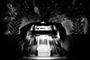 The descent... (HC4) (Simon BOISVINET) Tags: 2014 stockholm suede voyage photography blackandwhite escalator stairs