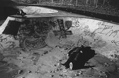 Mutualism (claire.nish) Tags: depression isolation separation lost longing love divorce pain abandonment waiting watching cigarette wishing wish wonder blackandwhite 35mm film