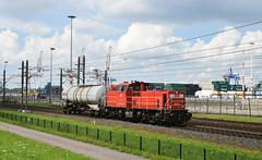 2017-08-09_5516 DBC 6434 Waalhaven Rotterdam (Peter Boot) Tags: dbc 6434 waalhaven rotterdam dbc6434 nacco ketelwagen uncode1992 ketelwagentrein trein goederentrein cargo goederenvervoer havenspoorlijn nederland spoor spoorwegen