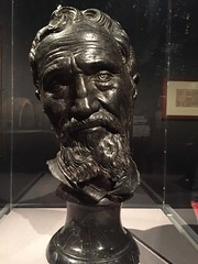 1-17 Divine Michelangelo at The Met (MsSusanB) Tags: bronze portrait volterra metmuseum metropolitanmuseum michelangelo divine museum exhibition nyc art