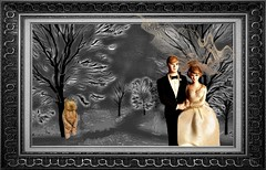 Bride & Groom Get Married in the Black Forest (Rusty Russ) Tags: black forest bride groom bear bw marrage frame colorful day digital window flickr country bright happy colour eos scenic america world sunset beach water sky red nature blue white tree green art light sun cloud park landscape summer city yellow people old new photoshop google bing yahoo stumbleupon getty national geographic creative composite manipulation hue pinterest blog twitter comons wiki pixel artistic topaz filter on1 sunshine image reddit