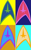 WRL ST (Michael.Schiefer) Tags: startrek star trek wars popart pop art warhol andy andywarhol nextgeneration starwars spock picard