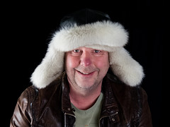 Selfies testing (and hat!) (Andy Sut) Tags: andy sutton studio light test winter hat