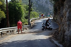 Fixing the Road - Palaiokastritsa, Corfu 2017 (Dis da fi we (was Hickatee)) Tags: fixing road corfu palaiokastritsa phaeacians old castle place odysseus paleokastritsa