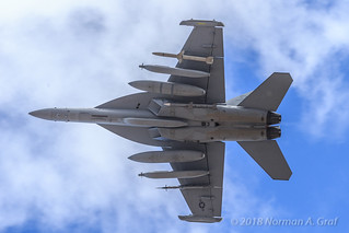 Boeing EA-18G Growler of VAQ-132
