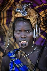 Ethiopie: les Mursi de la vallée de l'Omo. (claude gourlay) Tags: éthiopie ethipia afrique africa claudegourlay valléedelomo omovalley omo ethnie ethnic mursi portrait retrato