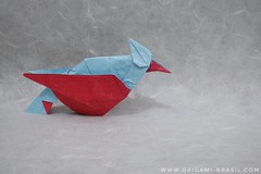 25/365 Song Bird by Nguyen Hung Cuong (origami_artist_diego) Tags: origami origamichallenge 365days 365origamichallenge songbird nguyenhungcuong