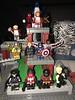 LEGO Avengers (Capcranium) Tags: lego avengers thanos black order panther captain america iron man spider wasp thor woman jack hearts knight hawkeye falcon widow universe marvel superhero