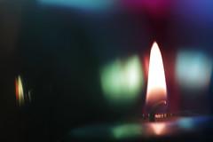 Cherish your flame (Emmanuelle2Aime2Ailes) Tags: macromondays flame candle colors macro bougie flamme couleurs