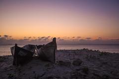 Ilha de Moçambique (António Alfarroba) Tags: mozambique moçambique sunset boat romance