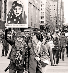 WE THE PEOPLE (kirstiecat) Tags: wethepeople monochrome monochromemonday blackandwhite noiretblanc street canon chicago women daca dreamers savedaca makefeminismintersectional protest liberal progressive womensmarch womensrights humanrights thisiswhatdemocracylookslike thepeopleunitedwillneverbedefeated thepeopleunitedwillneverbedivided resist resistfascism impeachtrump trumpmustgo notrumpnokkknoracistusa people protestors signs plannedparenthood mycountrymyvoice nohumanisillegal iamawomanhearmeresist dissentingispatriotic america illinois