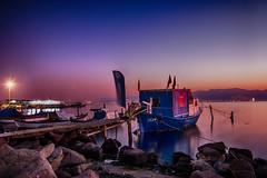 İZMİR UZUNPOZLAMASI (SONER DİKER) Tags: lake uzunpozlama manzara bostanli izmir boat