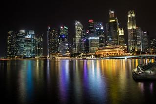 Singapore - City lights