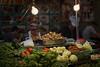 Bangkok street food (Thomas Mulchi) Tags: samphanthawongdistrict bangkok thailand 2017 chinatown people persons nightshot streetvendor woman food foodstall men veggies vegetables seafood chicken krungthepmahanakhon th
