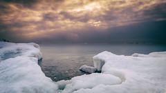 Fire & Ice (Mika Laitinen) Tags: balticsea canon5dmarkiv europe finland helsinki leendgrad scandinavia uunisaari cloud color ice landscape nature outdoors sea seascape shore sky snow water winter helsingfors uusimaa fi