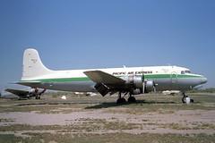 N301JT Douglas DC-4/C-54B Pacific Air Express (pslg05896) Tags: n301jt douglas dc4 c54 pacificairexpress chandler memorial 34az