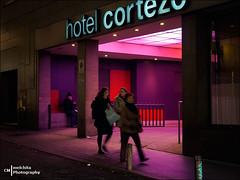 Hotel Cortezo (Melchita) Tags: streetphotography street streetcolor streetphotographycolor streetscenes colorphotography urbanphotography urbanlife urbanscenes spain melchita