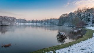 L'étang des Mousseaux en hiver #2