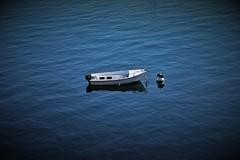 Nella solitudine il solitario divora sé stesso, nella moltitudine lo divorano in molti. Ora scegli. ( Nietzsche) (ornella sartore) Tags: barca lago natura colori particolari allaperto