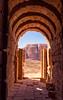 Desert Tunnel (IRRphotography) Tags: middleeast desert petra jordan maangovernorate jo tunnel lookingout mountain light stone