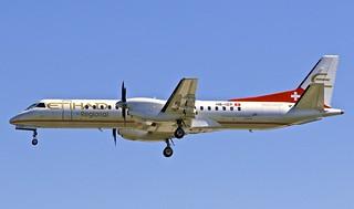 GVA/LSGG: DarwinAirline (EtihadRegional) SAAB2000 HB-IZP