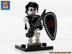 SKELETON ARMY 01 (baronsat) Tags: skeleton army lego minifig custom combo mix warriors battle undead magic game war knight tabletop