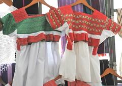 Nahua Embroidered Blouses Mexico Puebla (Teyacapan) Tags: ropa mexicana mexico puebla blusas blouses nahua chachahuantla clothing markets oaxaca embroidery