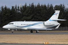 Falcon 2000EX TC-SMC Cengiz Havacilik (Mark McEwan) Tags: dassault falcon2000ex f2th tcsmc cengizhavacilik bizjet edi edinburghairport edinburgh aviation aircraft airplane