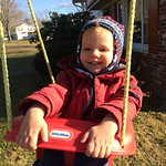 """Swinging outside our house <a style=""""margin-left:10px; font-size:0.8em;"""" href=""""http://www.flickr.com/photos/124699639@N08/40346474462/"""" target=""""_blank"""">@flickr</a>"""