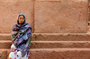 lalibela, Ethiopia (Neal J.Wilson) Tags: ethiopia ethiopian africa african people portrait scarf church lalibela waiting women travel nikon d5600 steps wall world