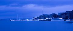 My blue-tiful Oslo (evakongshavn) Tags: oslo akerbrygge norge norway harbour harbor blue bluetiful yacht boats sealine seashore water waterscape fjords fjordsofnorway fjord nikon nikond7200 d7200 bluehour