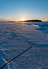 Cracking Sunset (tomi.a) Tags: finland helsinki suomi nature outdoor sunset ice cold winter snow d850 landscape snowscape frozen travel white sunlight evening sun flickr clouds cracks crack formation sky sea
