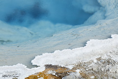 Dangerous Purity_27A0698 (Alfred J. Lockwood Photography) Tags: alfredjlockwood nature abstract geothermalpool silexspring fountainpaintpot yellowstonenationalpark color water texture summer afternoon wyoming